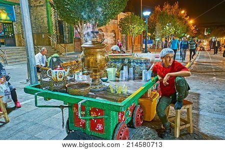 Hot Tea In Evening Tehran