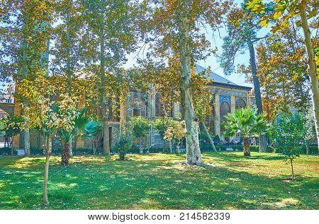 Enjoy The Greenery Of Golestan Garden, Tehran