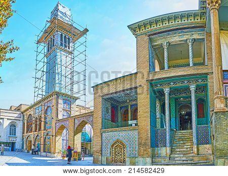 Restoration Of Golestan, Tehran