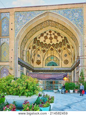 The Mosques Of Tehran