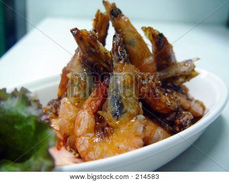 Fried Shrimp Cuisine