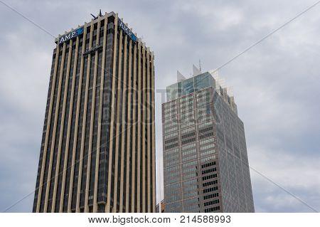 Amp Tower Building In Cbd