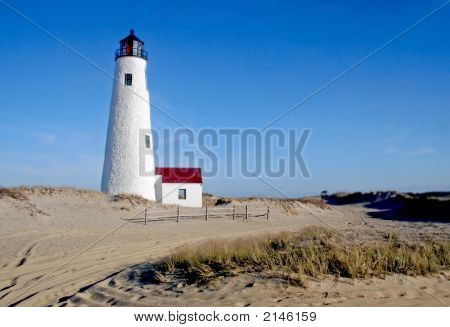 Great Point Lighthouse - Nantucket, Cape Cod