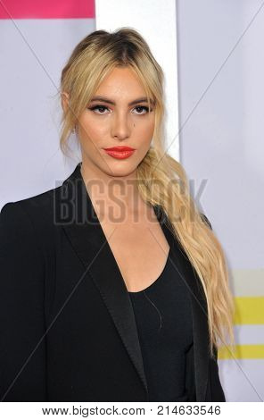 Lele Pons at the 2017 American Music Awards held at the Microsoft Theater in Los Angeles, USA on November 19, 2017.