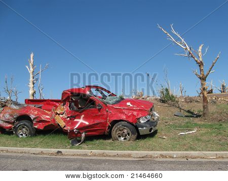Truck and Tornado