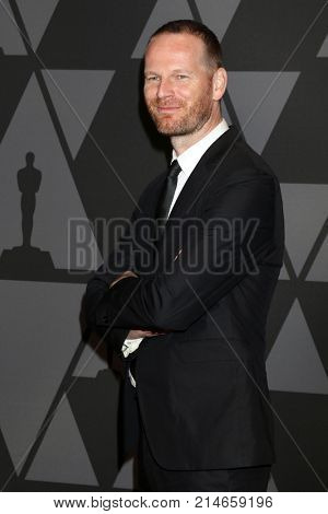 LOS ANGELES - NOV 11:  Joachim Trier_ at the AMPAS 9th Annual Governors Awards at Dolby Ballroom on November 11, 2017 in Los Angeles, CA