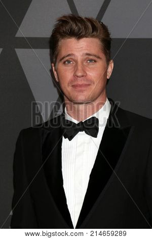 LOS ANGELES - NOV 11:  Garrett Hedlund at the AMPAS 9th Annual Governors Awards at Dolby Ballroom on November 11, 2017 in Los Angeles, CA