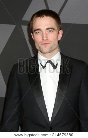 LOS ANGELES - NOV 11:  Robert Pattinson at the AMPAS 9th Annual Governors Awards at Dolby Ballroom on November 11, 2017 in Los Angeles, CA