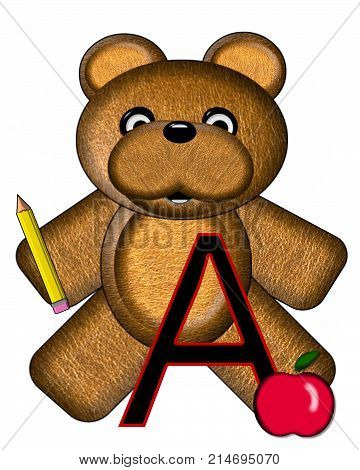 Bear Alphabet Lesson A