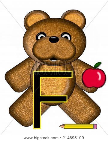 Bear Alphabet Lesson F