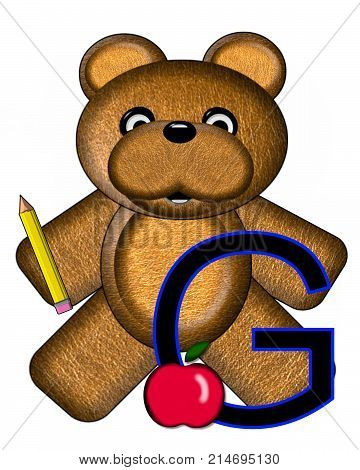 Bear Alphabet Lesson G
