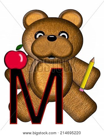 Bear Alphabet Lesson M