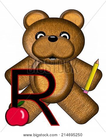 Bear Alphabet Lesson R