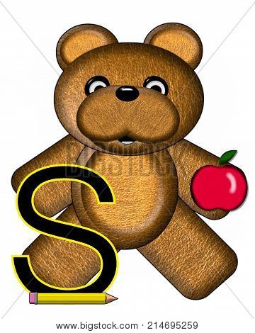Bear Alphabet Lesson S