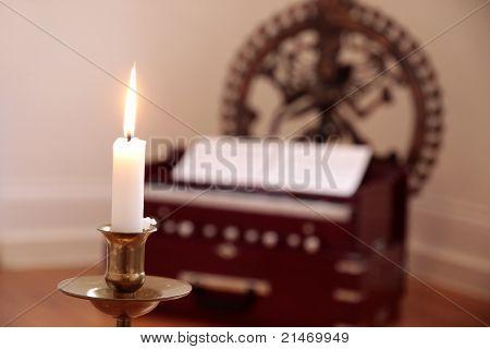Candle And Harmonium