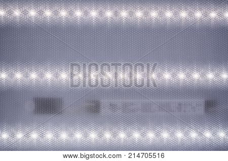 Reflector Of A Light-emitting Diode Recessed Into A Ceiling