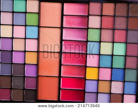 cosmetics palette eyeshadow, Professional multicolor eyeshadow palette