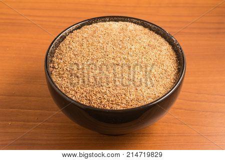 Ground Wheat For A Kibbeh In A Bowl / Trigo Para Quibe.