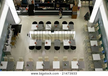 Bangkok cafe in a shopping centre