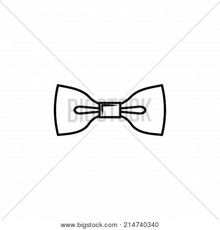 Bow tie icon for web mobile and infographics. Hand drawn bow tie icon. Bow tie vector icon. Bow tie icon isolated on white background