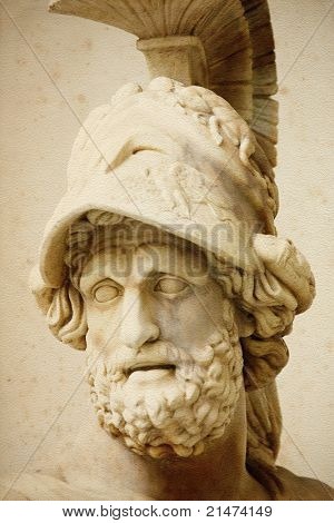 """""""Menelaus"""" from Loggia della Signoria in Florence poster"""