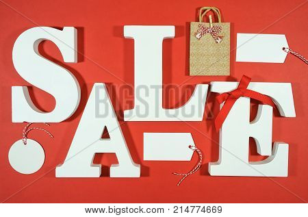 Black Friday Or Retail Sales Promotion Concept