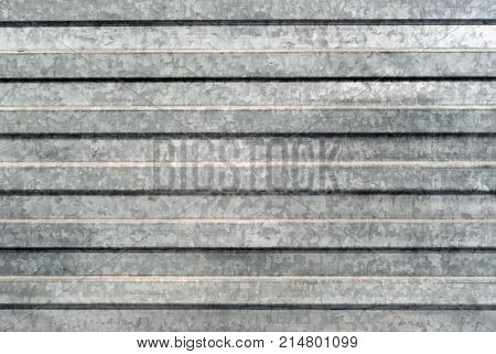 background texture: surface area of corrugated galvanized sheet metal