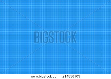 Graph Paper. Seamless Pattern. Architect Backgound. Millimeter Grid. Vector
