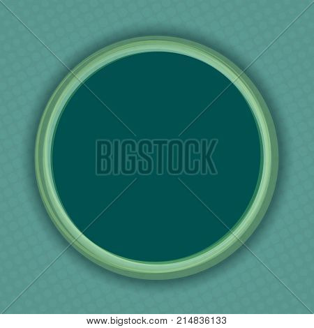 Comic round hole background in retro pop art style. Stock vector illustration.
