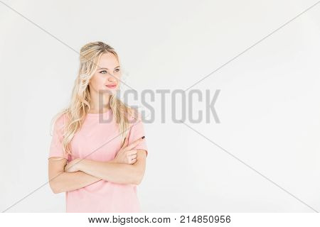 Smiling Woman With Crossed Arms