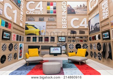 Citroen Lounge Room