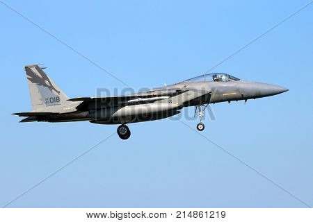 Us Air Force F-15 Eagle Fighter Jet Aircraft