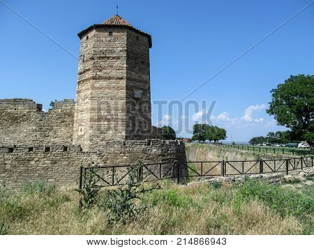 Bilhorod-Dnistrovskyi fortress or Akkerman fortress is a historical and architectural monument of the 13th-14th centuries in Odessa region. One of the ancient attractions of the southwestern Ukraine is the turkish tower on the bank of the Dniester Estuary