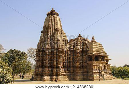 Kandariya Mahadeva Temple western temples of Khajuraho India