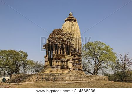 Chaturbhuja temple southern group of temples of Khajuraho India