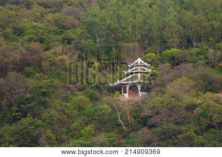 Buddhism Temple On Koh Larn