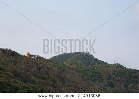 Buddha Sculpture On Koh Larn