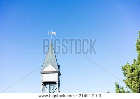 Hammetschwand Elevator near Luzern at Buergenstock, the highest exterior elevator in Europe tourism attraction