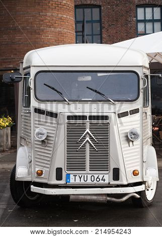 White Citroen H Van, 1969 Model