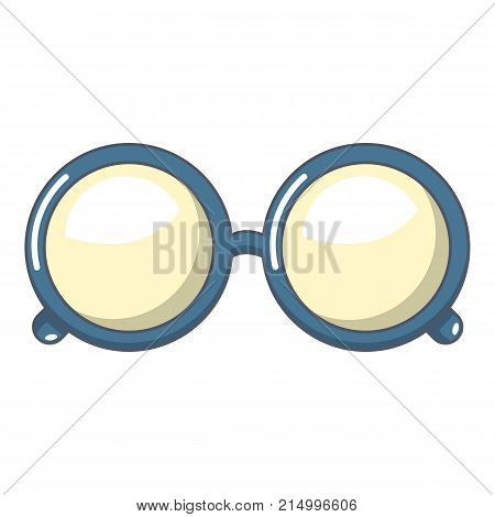 Spectacles icon. Cartoon illustration of spectacles vector icon for web