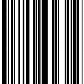 Black and White Straight Vertical Variable Width Stripes, Monochrome Lines Pattern, Vertically Seamless, Straight Parallel Vertical Lines, Fashion Geometric Monochrome Random Streaks poster