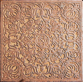 Detail of a fine iron forging floor at the Rostov kremlin (Russia)