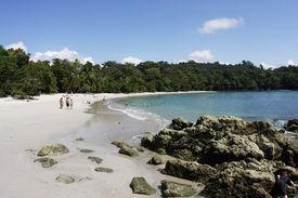 Beach in Manuel Antonio National Park (Costa Rica)