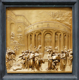 Joseph by Ghiberti. Detail of the panel on the doors (