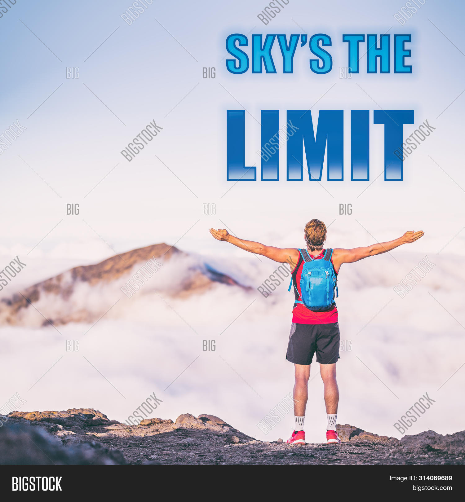 sky s limit motivation image photo trial bigstock