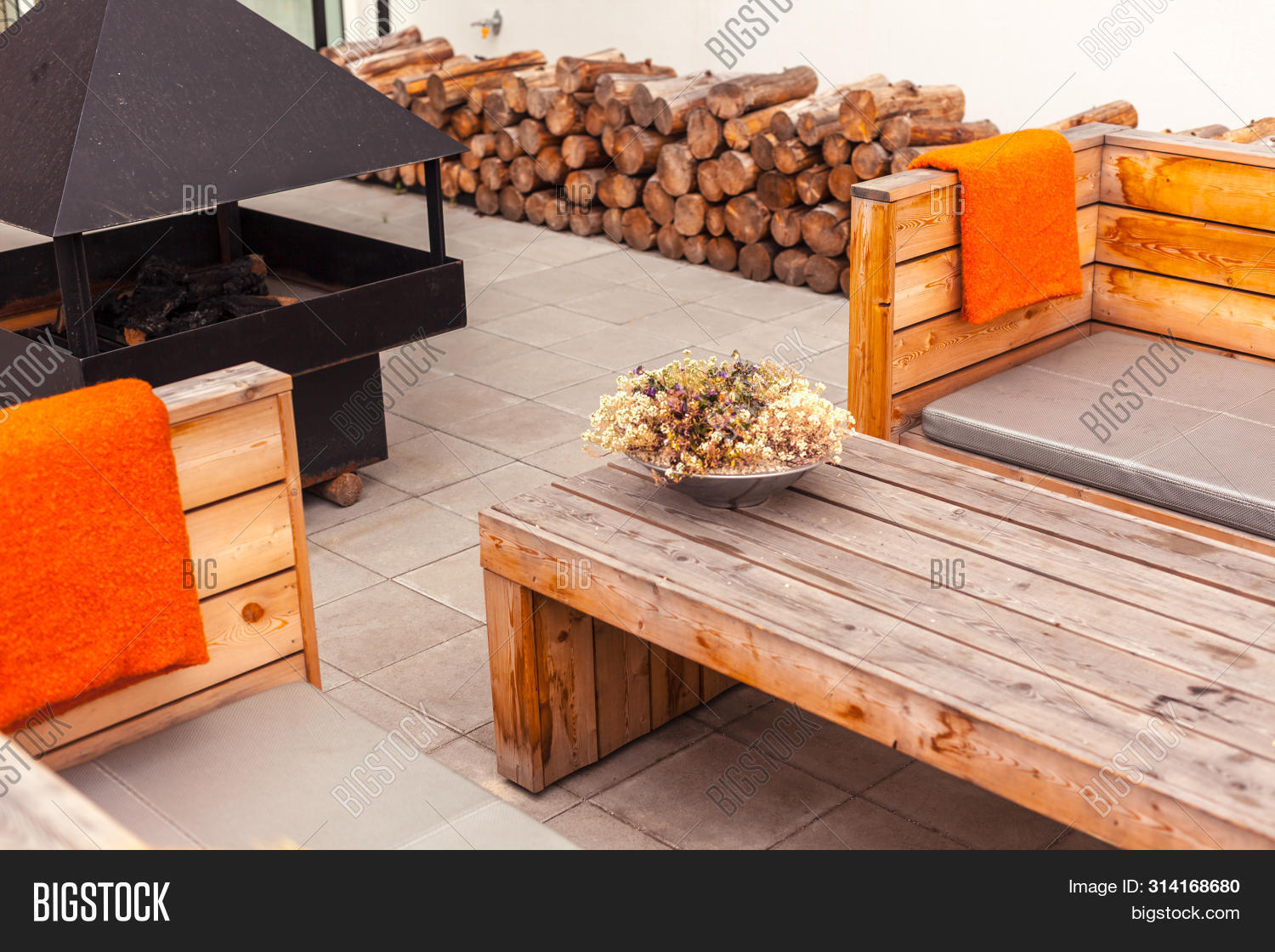 Outdoor Restaurant Image Photo Free Trial Bigstock