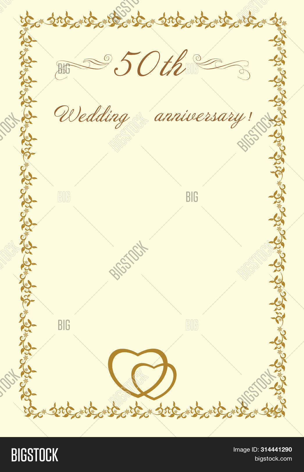 50th Wedding Image Photo Free Trial Bigstock