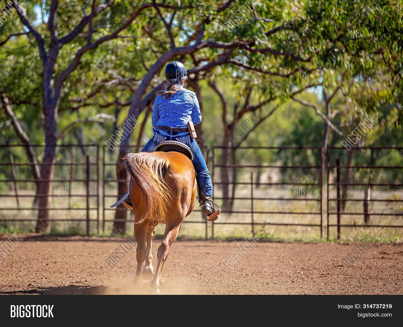 Female Equestrian Image Photo Free Trial Bigstock