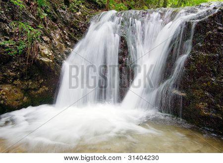 beautifuls waterfalls Janosikove Diery - Slovakia - Europe poster
