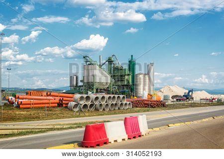 Asphalt Base, asphalt production plant